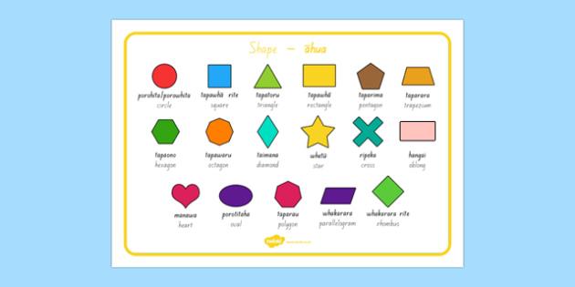 2D Shape, 2D, shape Mat, shapes, 2D shapes, vocabulary, words