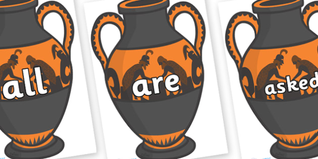 Tricky Words on Amphora - Tricky words, DfES Letters and Sounds, Letters and sounds, display, words