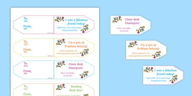Achievement Brag Tags Polish Translation - polish, achievement, brag tags, brag, tag, award, reward, collect, effort