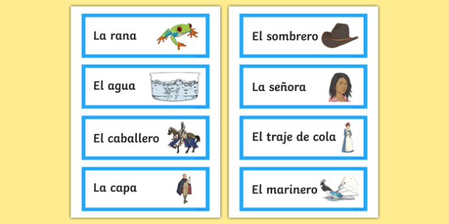 Cu cu Cantaba la Rana Nursery Rhyme Word Cards
