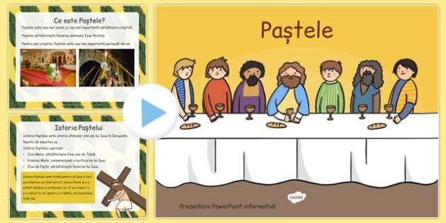 Istoria Pastelui, Prezentare PowerPoint - religie, Paste, poveste