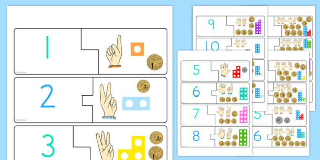 Counting Puzzle 1 to 20 - maths, numeracy, ks1, key stage, numbers, twenty, one, challenge, game, filler, short, independent, bonds, adding, subtracting