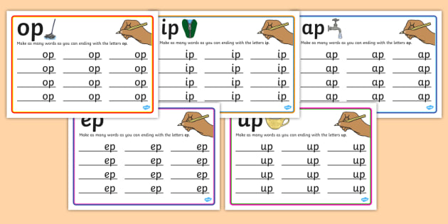 p Rime Mats - rime, cards, rhyme, words, activity, word, card, p