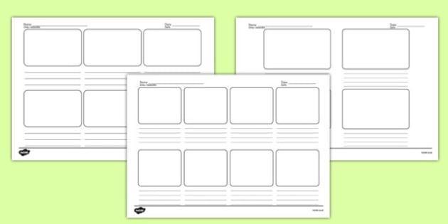 Storyboard Templates Polish Translation - polish, storyboard, templates, story