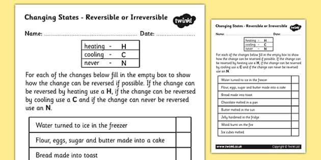 Changing Materials Ks2 Homework - image 11