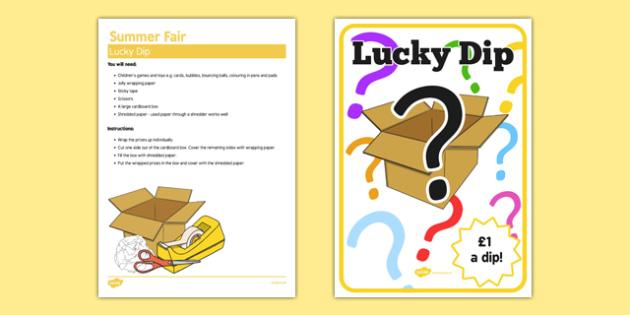 Elderly Care Summer Fair Lucky Dip - Elderly, Reminiscence, Care Homes, Summer Fair