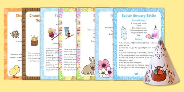 Easter SEN Sensory Resource Pack - easter, SEN, sensory, PMLD, P Scales