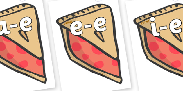 Modifying E Letters on Cherry Pie to Support Teaching on The Very Hungry Caterpillar - Modifying E, letters, modify, Phase 5, Phase five, alternative spellings for phonemes, DfES letters and Sounds