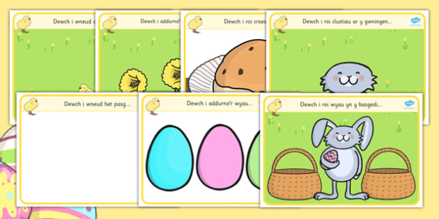 Matiau Clai 'Pasg' - welsh, cymraeg, Pasg, mat clai, clai, creadigol, mat, activity, playdough, play-doh, play doh, playdoh, easter, easter activity, easter playdoh mat, activity mat, activity, fun, playdough activity mat, themed mat