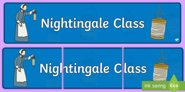 Florence Nightingale Themed Classroom Display Banner - Themed banner, banner, display banner, Classroom labels, Area labels, Poster, Display, Areas