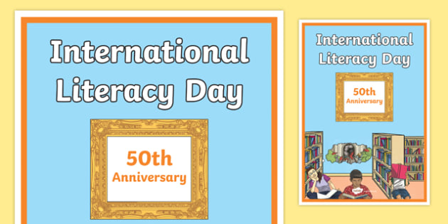 International Literacy Day Display Poster