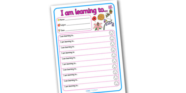 Themed Target and Achievement Sheets Flower Themed -  Target and Achievement, Target and Achievement Sheet, Target Sheet, Flower Themed
