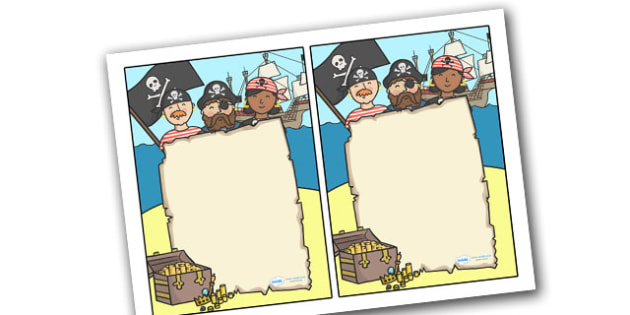 Editable Note From Teacher (Pirate Themed) - editable note from teacher, pirate themed, note from teacher, notes, note, comment, parent, teacher's, editable, pirate