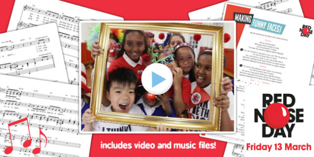 Red Nose Day 2015 Song, Video and Lyrics Pack - red nose day, pack