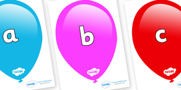 Phase 2 Phonemes on Balloons - Phonemes, phoneme, Phase 2, Phase two, Foundation, Literacy, Letters and Sounds, DfES, display