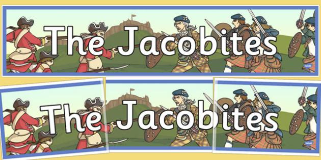 The Jacobites Display Banner - jacobites, display, banner, scottish
