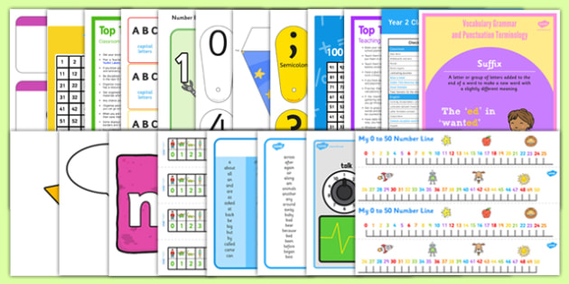 Classroom Essentials for Year 2 Resource Pack