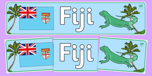 Fiji Display Banner - Fiji, Olympics, Olympic Games, sports, Olympic, London, 2012, display, banner, sign, poster, activity, Olympic torch, flag, countries, medal, Olympic Rings, mascots, flame, compete, events, tennis, athlete, swimming