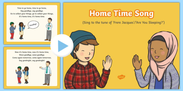 Home Time Song PowerPoint