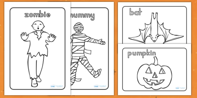 Halloween Colouring Pictures - halloween, halloween colouring, halloween colouring in, halloween colouring sheets, halloween colouring worksheets, pictures