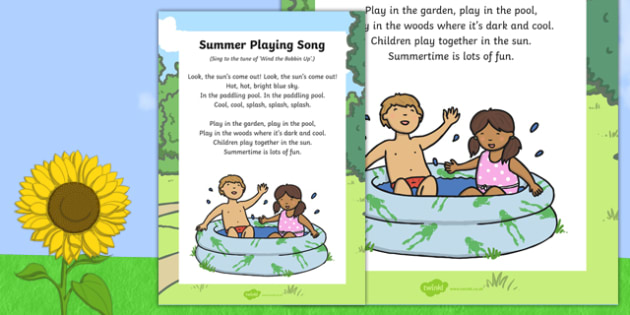 Summer Playing Song