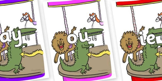 Phase 5 Phonemes on Trick 3 to Support Teaching on The Enormous Crocodile - Phonemes, phoneme, Phase 5, Phase five, Foundation, Literacy, Letters and Sounds, DfES, display