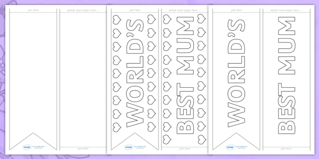 Worlds Best Mum Sash Template - mothers day, worlds best mum sash, worlds best mum, sash, mothers day sash, colourable sash, best mum sash, sash for mum