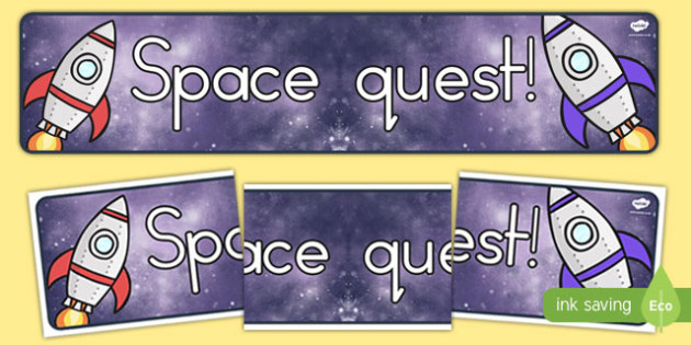 Space Quest Topic Display Banner - australia, space, banner