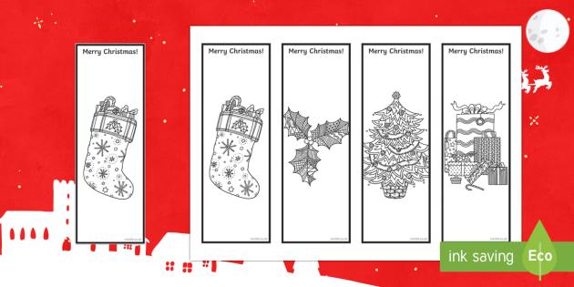 Christmas Mindfulness Bookmarks