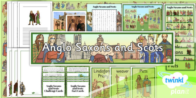 PlanIt - History LKS2 - Anglo Saxons and Scots Unit Additional Resources