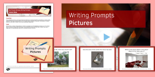 Ten Picture Stimulus Writing Prompts Resource Pack - ten, picture, stimulus, writing prompts