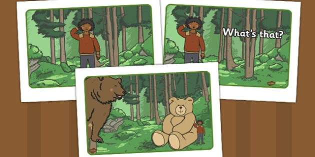 Ive Lost My Teddy Where Is It Story Sequencing - Where's My Teddy, teddy, woods, forest, lost, bear, sequencing, A4, story sequencing, story resources, reading, story, book