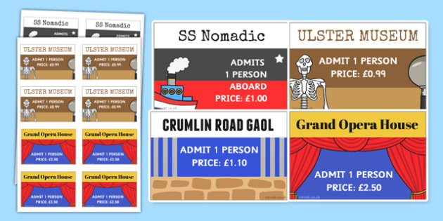 Belfast Tourist Attraction Role Play Tickets - belfast, tourist