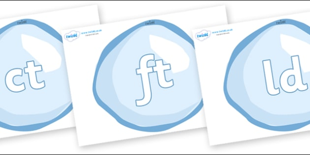 Final Letter Blends on Bubbles - Final Letters, final letter, letter blend, letter blends, consonant, consonants, digraph, trigraph, literacy, alphabet, letters, foundation stage literacy