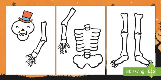 Build a Skeleton Activity