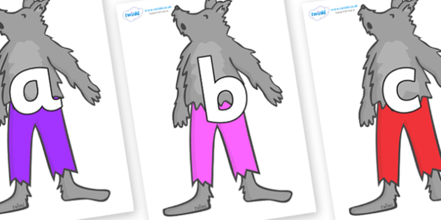 Phoneme Set on Werewolf - Phoneme set, phonemes, phoneme, Letters and Sounds, DfES, display, Phase 1, Phase 2, Phase 3, Phase 5, Foundation, Literacy