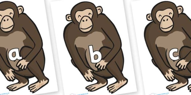 Phase 2 Phonemes on Chimps - Phonemes, phoneme, Phase 2, Phase two, Foundation, Literacy, Letters and Sounds, DfES, display