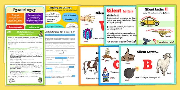 UKS2 English Display Pack - uks2, english, display, pack, literacy, ks2