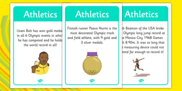 The Olympics Athletics Display Facts - the olympics, athletics, display facts