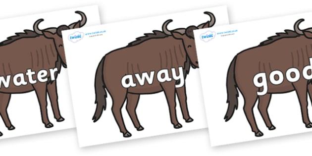 Next 200 Common Words on Wildebeests - Next 200 Common Words on  - DfES Letters and Sounds, Letters and Sounds, Letters and sounds words, Common words, 200 common words