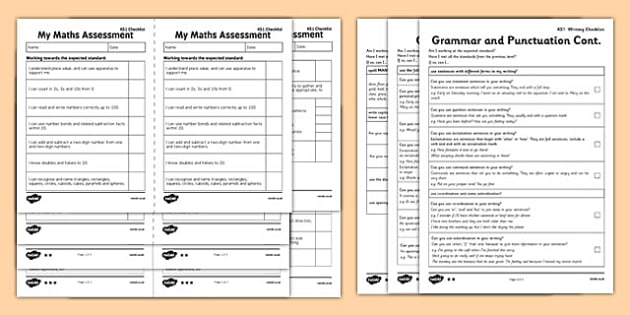Interim Assessment Pack Key Stage 1 - I Can Statements