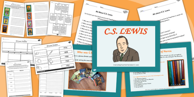 C S Lewis Significant Individuals Lesson Teaching Pack PowerPoint