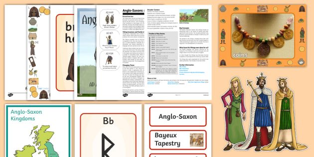 The Anglo-Saxons Resource Pack-Australia - History Club, Australia