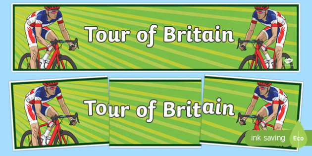 Tour of Britain Display Banner