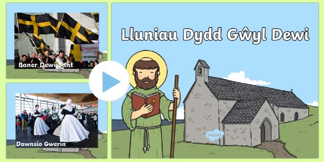 Pwerbwynt Lluniau Dydd Gŵyl Dewi - Pwerbwynt  Dydd Gŵyl Dewi, Cymru, Cymraeg, Addysg Crefyddol,   Dewi Sant, thema, Mawrth 1af,Welsh
