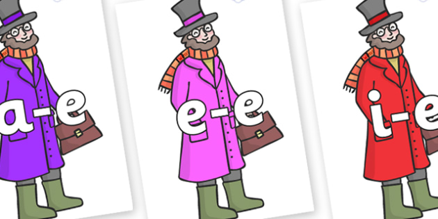 Modifying E Letters on Doctor Foster - Modifying E, letters, modify, Phase 5, Phase five, alternative spellings for phonemes, DfES letters and Sounds