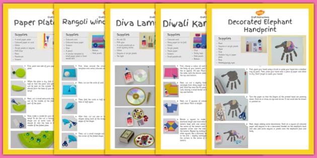 Diwali Craft Activity Pack - diwali, craft, activity pack, activity, pack, eyfs