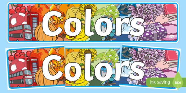 Color Display Banner - usa, america, color, display banner, display, banner