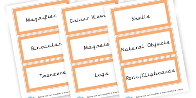 Investigation labels - Investigation Area Primary Resources - Investigation area, investigate, signs, labels, visual aids, posters, areas, zones, visual aids, rules, behaviour, banner, poster, Early Years (EYFS), KS1 & KS2 Primary Teaching Resources