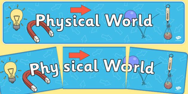 Physical World Display Banner NZ - nz, new zealand, physical world, display banner